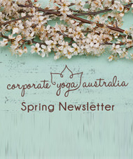 corporate-workplace-yoga-brisbane-debby-lewis-wellness-spring-newlsetter-cover